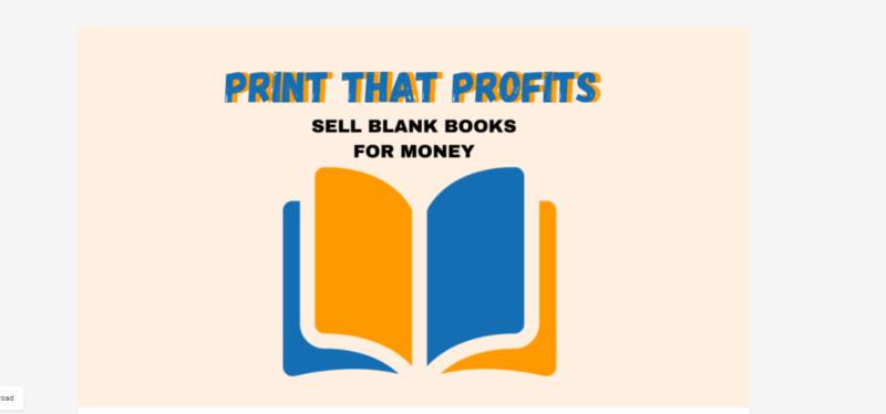 Income Cure – Print That Profit