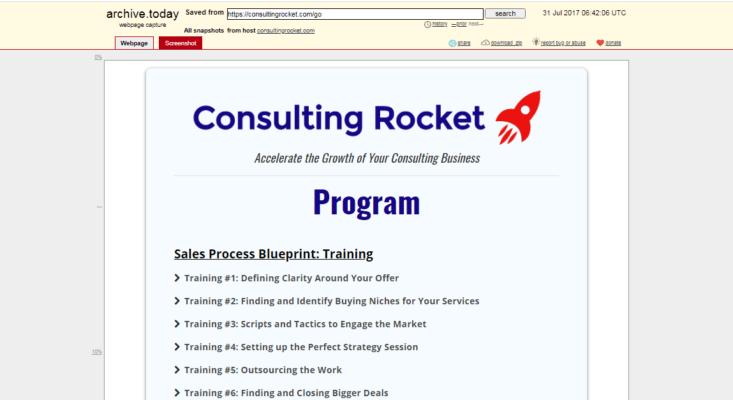 John Logar – Consulting Rocket