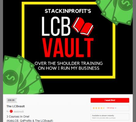 StackinProfit – The LCB Vault