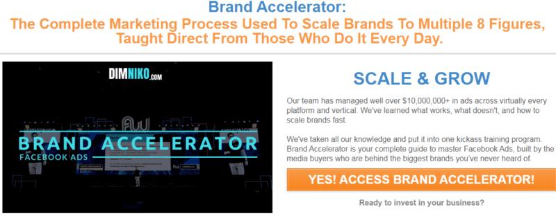 Dim Niko – Brand Accelerator – Facebook Ads (Update1)