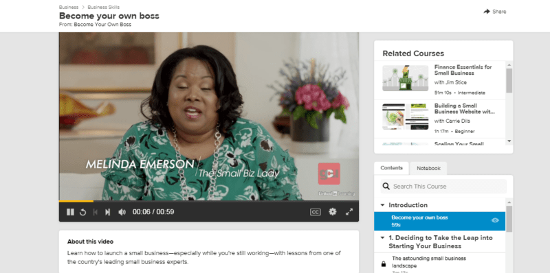 Melinda F. Emerson – Become Your Own Boss