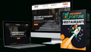 Web Agency Fortune Restaurant + OTO-1