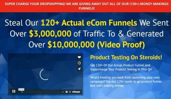 120+ eCom Funnels Download