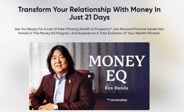 Ken Honda (MindValley) – Money EQ