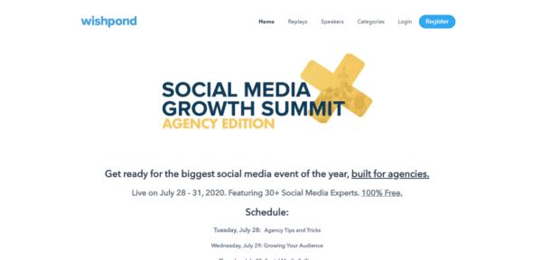 Social Media X Growth Summit 2020