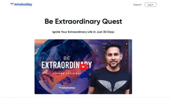 Vishen Lakhiani (Mindvalley) – Be Extraordinary