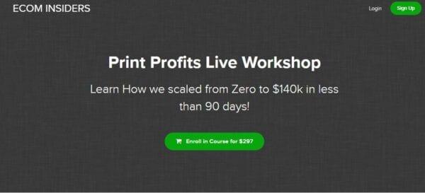 James Beattie – Print Profits Live Workshop