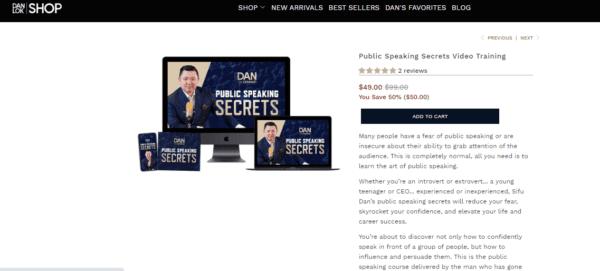 Dan Lok – Public Speaking Secrets