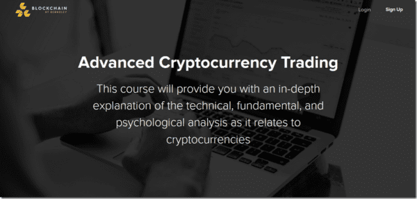 Advanced Cryptocurrency Trading – Blockchain at Berkeley