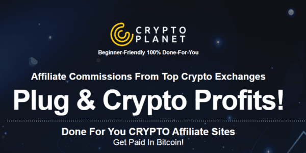 Ariel Sanders – Crypto Planet (Done For You CRYPTOPlanet Affiliate Sites get PAID in bitcoin!)