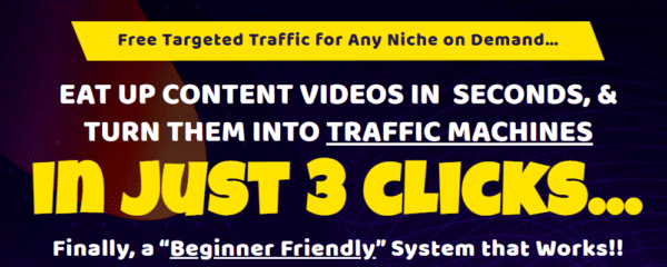 Brendan Mace – VidChomper – Free Targeted Traffic for Any Niche