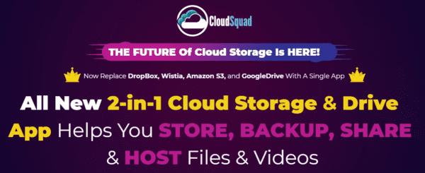 Cloud Squad – THE FUTURE Of Cloud Storage