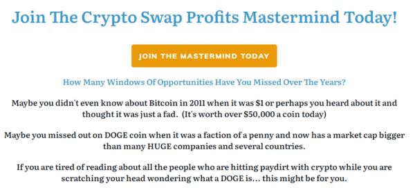 Crypto Swap Profits Mastermind