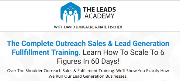 David Longacre & Nate Fischer – The Leads Academy Download