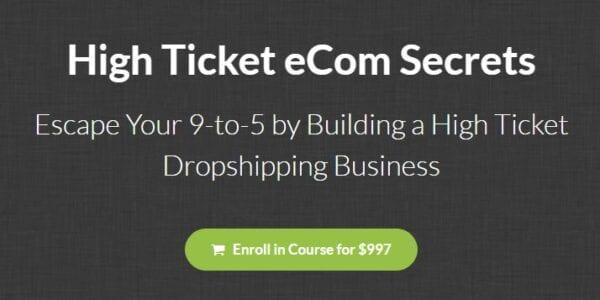 Earnest Epps – High Ticket Ecom Secrets Download