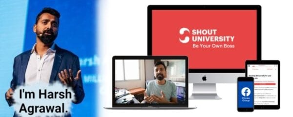 Harsh Agrawal – Shout University 2.0 Download