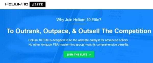 Helium 10 Elite – Amazon FBA Masterminds Update 7 Download