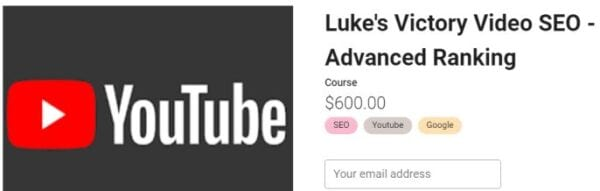Holly Starks – Luke's Victory Video SEO – Advanced Ranking Download