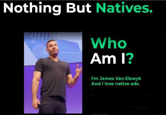 James Van Elswyk – Nothing But Natives