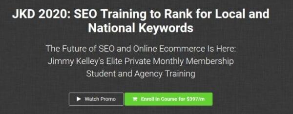 JKD 2020 SEO Training to Rank for Local and National Keywords [November 2019]