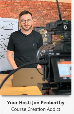 Jon Penberthy – Course Launch Bootcamp