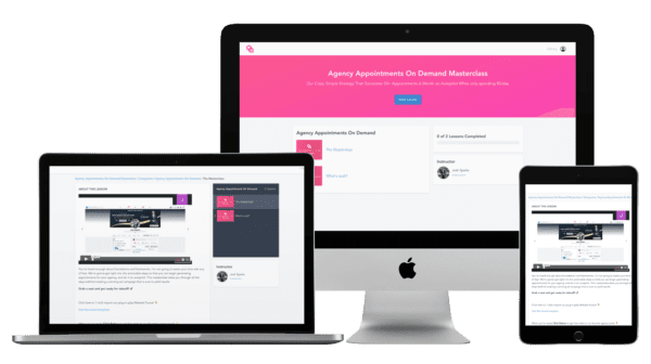 Josh Spark – Agency Appointments On Demand Masterclass