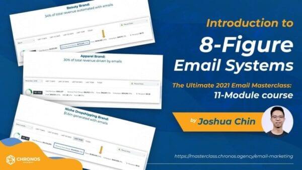 Joshua Chin – Ultimate Email 2021 Masterclass