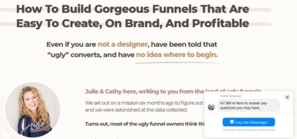 Julie Stoian & Cathy – Funnel Gorgeous Download