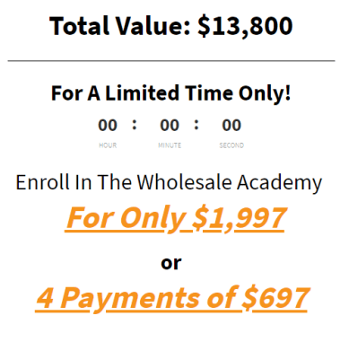 Larry Lubarsky – Wholesale Academy Update 2 Download
