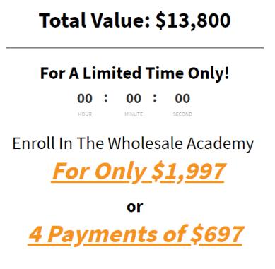 Larry Lubarsky – Wholesale Academy UP1