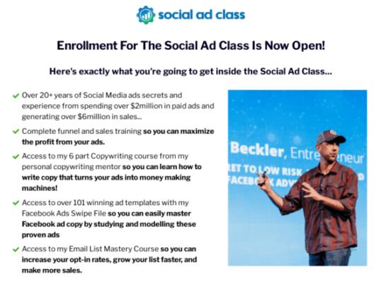 Miles Beckler – Social Ad Class