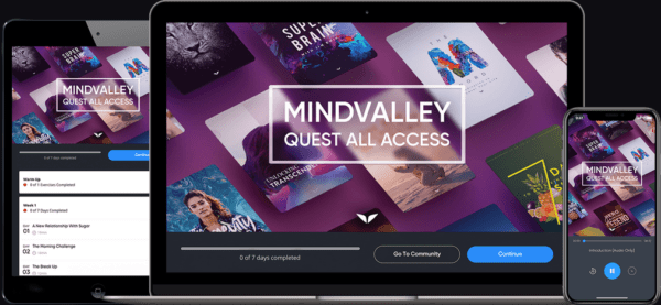 Mindvalley Quest All Access