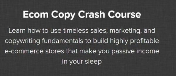 Nate Schmidt – Ecom Copy Crash Course Download