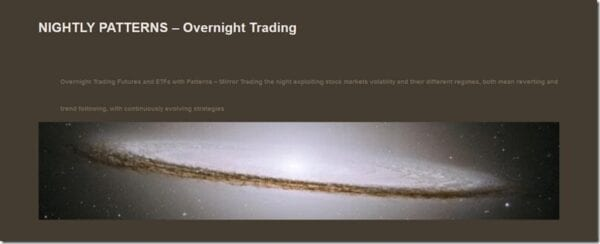 Nightly Patterns – Overnight Trading Download
