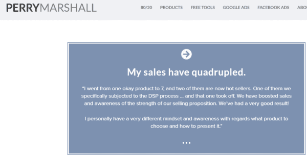 Perry Marshall – Definitive Selling Proposition