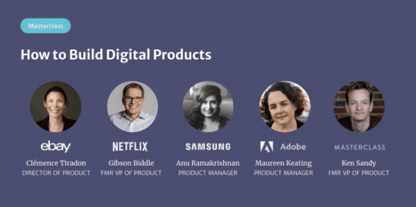 Product Masterclass – How to Build Digital Products