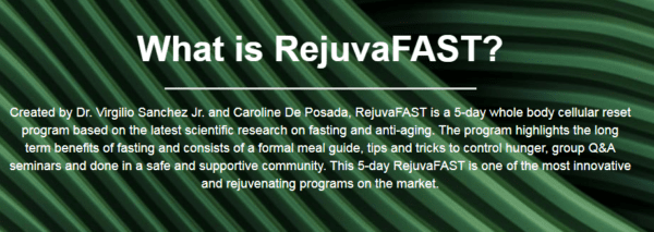 RejuvaFast – Rejuvenate and Renew your Mind, Body, and Soul!