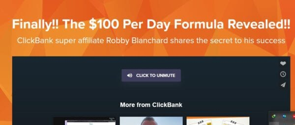 Robby Blanchard – Clickbank – Spark 200 Level Course $100/day Formula