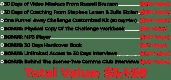 Russel Brunson – One Funnel Away Challenge UP1