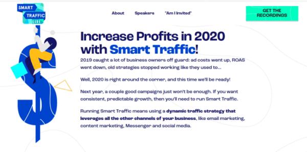 Smart Traffic Live – 3 Day Virtual Summit on Paid Traffic