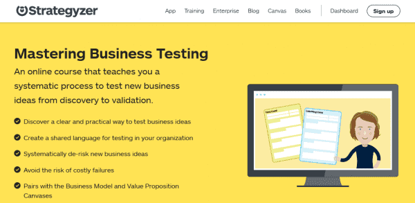 Strategyzer – Master Business Testing