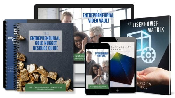 The Entrepreneurial Video Vault Learn How to RAPIDLY Grow Your aBusiness and Realize a QUICK ROI
