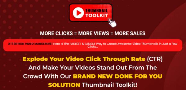 Thumbnail Toolkit – More Clicks = More Views = More Sales