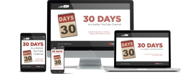 Tim Schmoyer – 30 Days to A Better YouTube Channel Download