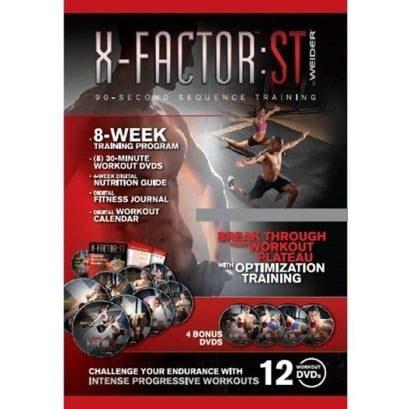 Weider – X-Factor ST 8 Week Training Program