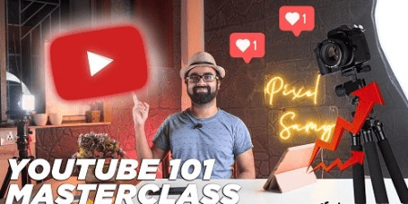 YOUTUBE – Begin Your Successful YouTube Journey Today! (YouTube Masterclass)
